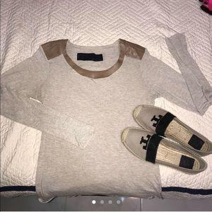 Zara woman tan top size Medium